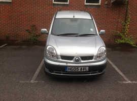 Renault Kangoo, 2005 (05) Grey MPV, Manual Diesel, 121,750 miles