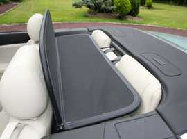 Jaguar XK Wind Deflector Very easy fit, folds for storage - Extremely effective at reducing wind