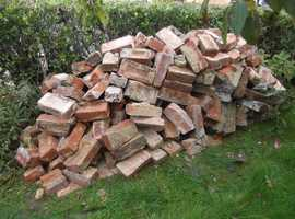 FREE brick hardcore to collect approx. 1.5/2 ton