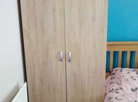 2 x 2 door wardrobes & sideboard for sale
