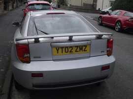 Toyota Celica, 2002 (02) Silver Coupe, Manual Petrol,  miles
