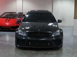 LHD Mercedes-Benz C63 AMG Black Series 2dr
