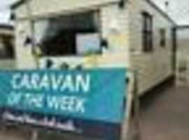 CHEAP CARAVAN FOR SALE AT WINKUPS HOLIDAY PARK SITE FEES INCLUDED TILL FEB 2019