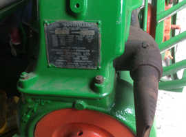 Vintage rotiller 1954 rotavator rare now history of old times