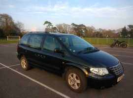 Chrysler Voyager, 2008 (08) Black MPV, Automatic Diesel, 75,400 miles