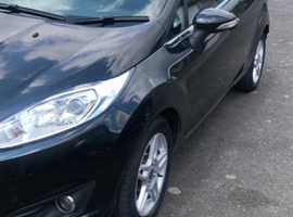 Ford Fiesta, 2013 (13) Black Hatchback, Manual Petrol, 47,075 miles