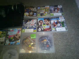Sony ps3 19games 2 controllers