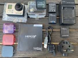 GoPro 3+ Black Edition with lots of extras