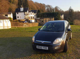 Fiat Punto Evo, 2010 (60) Black Hatchback, Manual Petrol, 98,700 miles