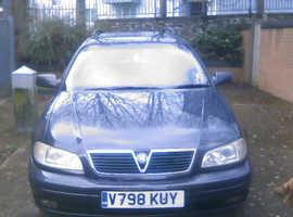 Vauxhall Omega, 1999 (V) Grey Estate, Automatic Petrol, 120,000 miles