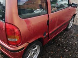 Microcar Virgo, 2001 (X) Red Saloon, Cvt Petrol, 17,000 miles