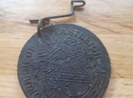 1936 bronze medal coin eastleigh comemarative
