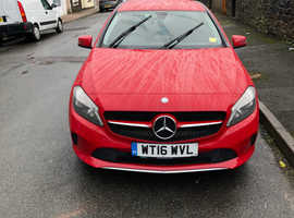 Mercedes A-CLASS, 2016 (16) Red Hatchback, Manual Diesel, 108,359 miles