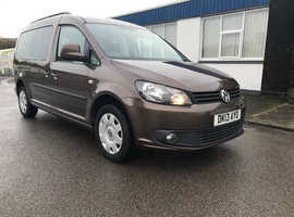 VW Caddy Maxi 5 seats plus large wheelchair.