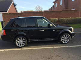 Land Rover Range Rover Sport, 2006 (06) Black Estate, Automatic Diesel, 144,345 miles