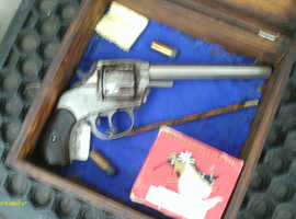 Cased US - Double Action Army .44 cal Wild West Revolver