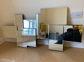 NEXT glass mirror