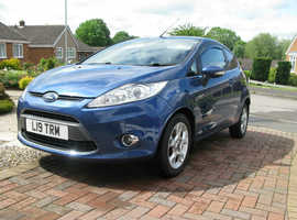 Ford Fiesta, 1.4 Titanium (top spec) New Shape 3 Door. Petrol.