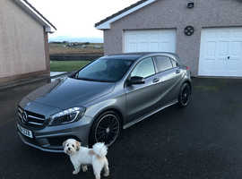 Mercedes A-CLASS, 2014 (14) Grey Hatchback, Manual Diesel, 28,800 miles