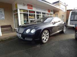 Bentley Continental GT Coupe, Auto 2006~56 Reg 65,000 miles