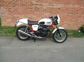 Dont miss out on this stunning looking Triumph Thruxton before the summer's over