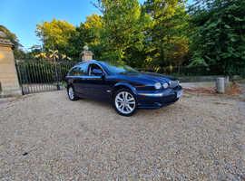 Jaguar X-TYPE, 2007 (07) Blue Estate, Manual Diesel, 140,000 miles