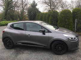 Renault Clio, 2014 (14) Grey Hatchback, Manual Petrol, 37,407 miles