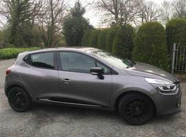 Renault Clio, 2014 (14) Grey Hatchback, Manual Petrol, 37,407 miles