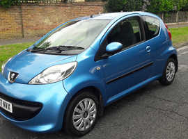 Peugeot 107 998cc 22k miles new mot £20 a year tax!