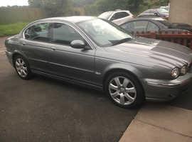 Jaguar X-TYPE, 2005 (54) Grey Saloon, Manual Petrol, 99,500 miles