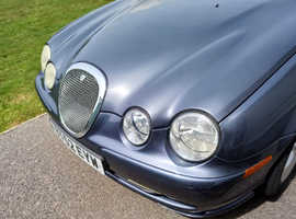 Jaguar S-TYPE, 2002 (52) Grey Saloon, Manual Petrol, 66,510 miles