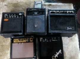 X7 Small amps