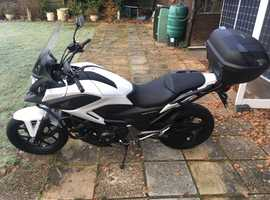 65 REG HONDA NC750 X TOURER / COMMUTER FULLY KITTED MOTORCYCLE ONLY 2100 MILES!!! RECENT MOT