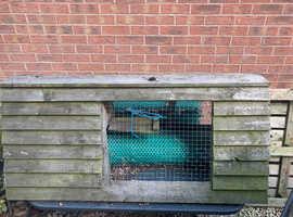 Chicken Arc Rabbit hutch wooden