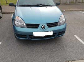 Renault Clio, 2007 (07) Blue Hatchback, Manual Petrol, 81,317 miles