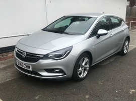 Vauxhall Astra, 2019 (68) Silver Hatchback, Manual Petrol, 22,500 miles