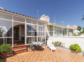Costa Blanca 3 bed bungalow - Rooftop Solarium & Sea View