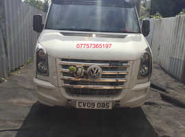 2006-11 VW CRAFTER OS DRIVER SIDE DOOR COMPLETE WHITE