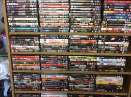 Mixed DVDs mainly action