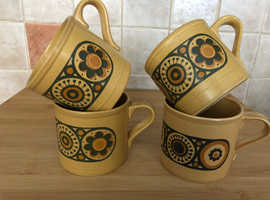 Kilncraft Vintage Pottery Mugs