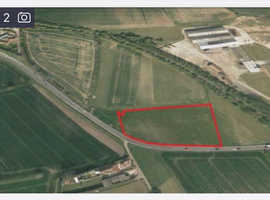 Approximately 2.5 acres of land