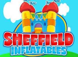 Bouncy castle hire in Sheffield and Chesterfield