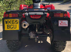 Honda 420cc quad bike. Excellent condition