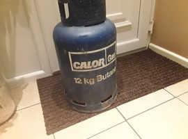 Empty 12kg  butane calor gas bottle