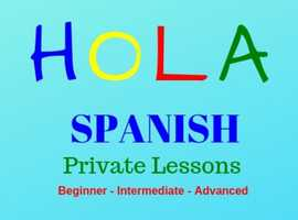 Learn Spanish - Private Spanish Lessons