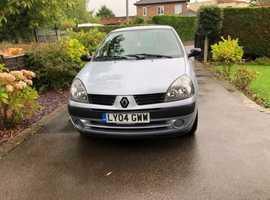 Renault CLIO 1.2, 2004 (04), Manual Petrol, 120,000 miles