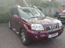 Nissan X Trail, 2006 (06), Manual Diesel, 162,000 miles