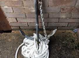 Heavy anchor- Fisherman/ yacht?