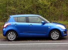 Suzuki Swift, 2014 (14) Blue Hatchback, Manual Petrol, 42,000 miles, (01443) 831670