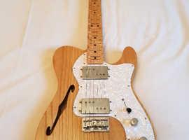 Fender 72 Telecaster, Thin line Semi Hollow Guitar